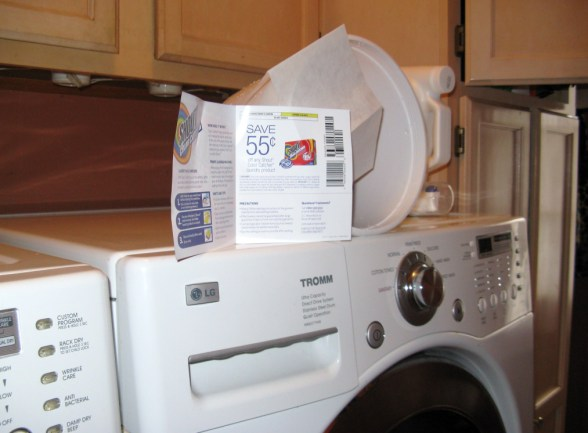use one sheet of Color Catcher in the dryer