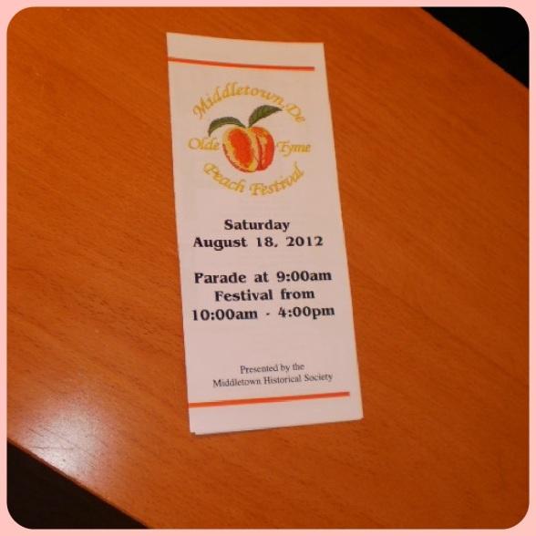 Annual Peach Festival