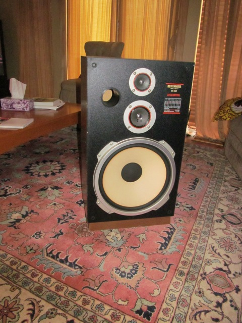 "one of the two ""Sanford and Son"" speakers!"
