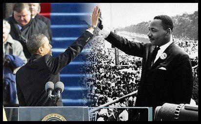 dr king and the pres