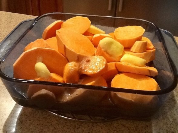 Candied Yams -aks- Sweet Potatoes