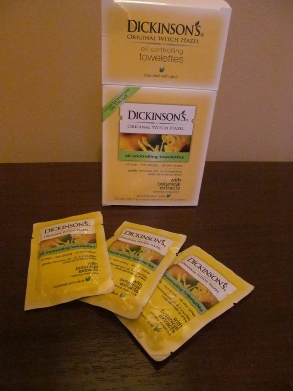 Dickinson's Original Witch Hazel Oil Controlling Towelettes