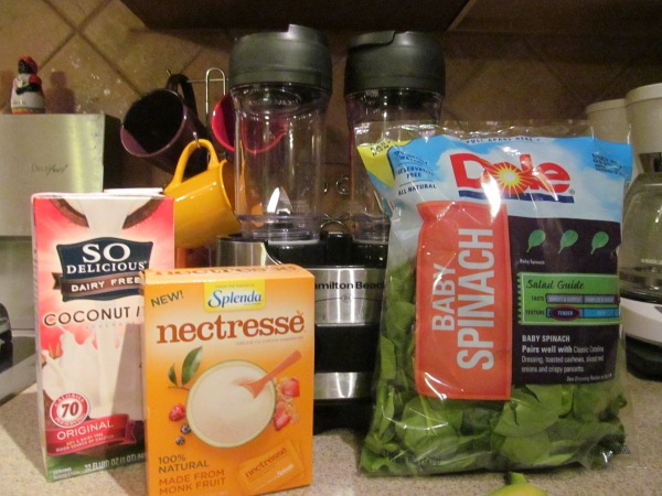 Spinach Smoothie Ingredients
