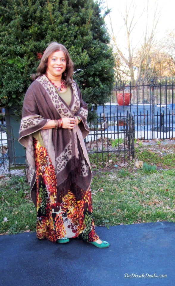 Shawl - Burlington Coat Factory