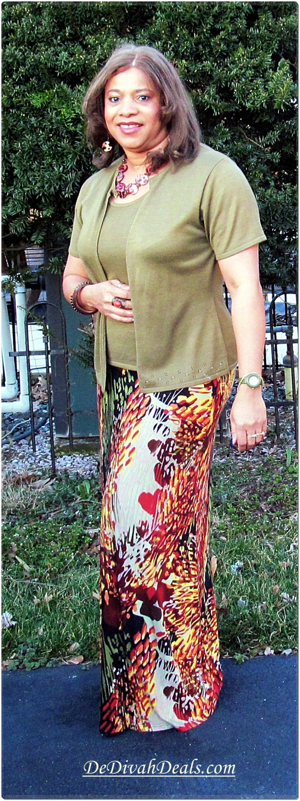 Maxi Skirt - Boscov's