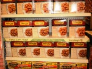 Frozen food snacks