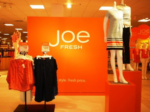 Joe Fresh at JC Penney's