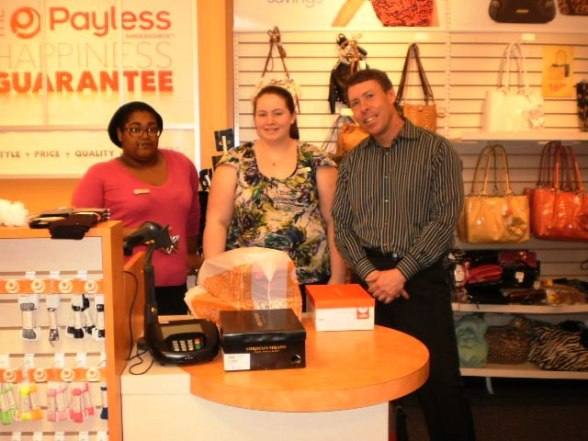 Staff at Payless