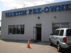 Martin Pre-Owned Dealership in Newark