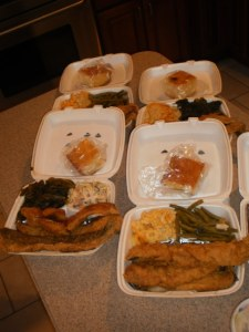 Fried Whiting Platters from L&G Soul Food