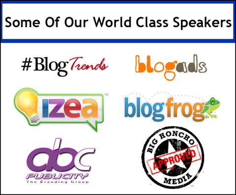 The Blog Workshop speakers