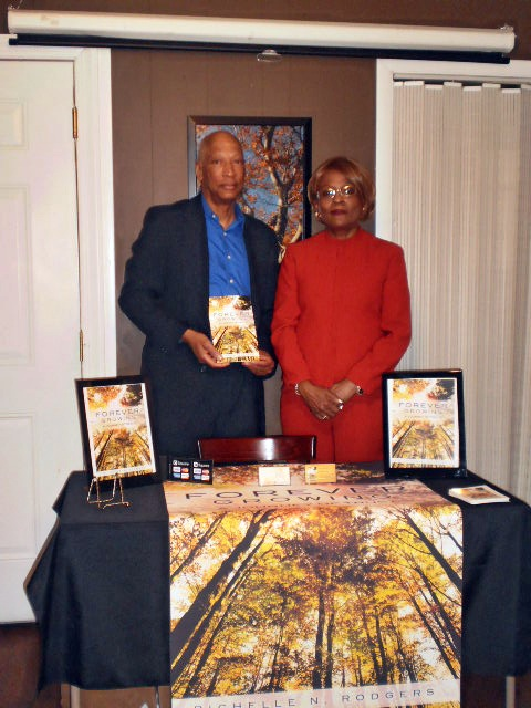 Richelle Rodgers with Leon Brown