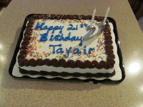 Tayair's Birthday 095
