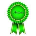 artistic badge